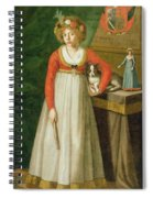 Portrait Of Isidore, 1810 Spiral Notebook
