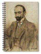 Portrait Of Jacinto Benavente Spiral Notebook