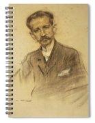 Portrait Of Jacinto Octavio Picon Spiral Notebook