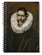 Portrait Of Jeronimo Cevallos Spiral Notebook