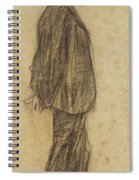 Portrait Of Joan Gay  Spiral Notebook