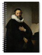 Portrait Of John Wtenbogaert Spiral Notebook