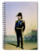 Portrait Of King William Iv Plate 14 Spiral Notebook