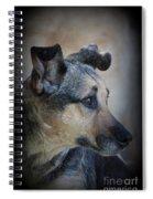 Portrait Of Kylie Spiral Notebook