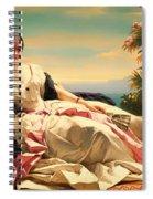 Portrait Of Leonilla Spiral Notebook