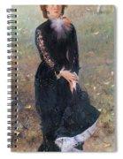 Portrait Of Madame Edouard Pailleron Spiral Notebook