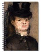 Portrait Of Madame Paul Darras Spiral Notebook