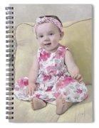 Portrait Of Maddie Spiral Notebook