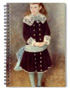 Portrait Of Martha Berard Spiral Notebook