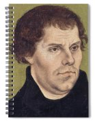 Portrait Of Martin Luther Aged 43 Spiral Notebook