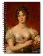 Portrait Of Mary Anne Bloxam Spiral Notebook