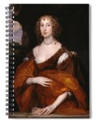 Portrait Of Mary Hill Spiral Notebook