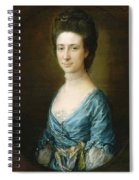 Portrait Of Mrs Clement Tudway Spiral Notebook
