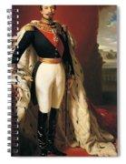 Portrait Of Napoleon IIi Louis Napoleon Bonaparte Spiral Notebook