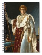 Portrait Of Napoleon In Coronation Robes Spiral Notebook