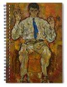 Portrait Of Paris Von Gutersloh Spiral Notebook