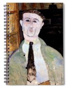 Portrait Of Paul Guillaume Spiral Notebook