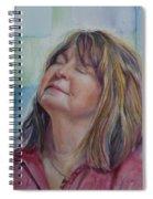 Portrait Of Peg Spiral Notebook