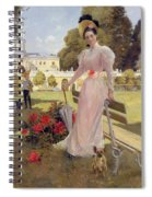 Portrait Of Princess Z.n Yusupova With Her Two Sons At Arkhangelskoe Spiral Notebook