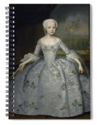 Portrait Of Sarah Eleanore Fairmore Spiral Notebook