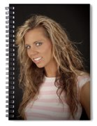 Portrait Of Sarah Spiral Notebook