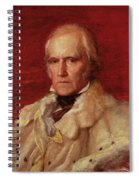 Portrait Of Stratford Canning 1786-1880, Viscount Stratford De Redcliffe 1856-7 Oil On Canvas Spiral Notebook