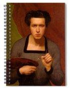 Portrait Of The Artist Spiral Notebook