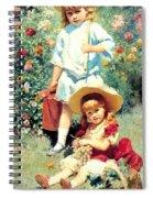 Portrait Of The Artists Children Spiral Notebook