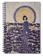 Portrait Of The Artist's Mother Spiral Notebook