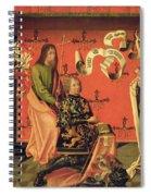 Portrait Of The Chevalier Philip Spiral Notebook