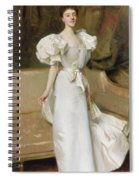 Portrait Of The Countess Of Clary Aldringen Spiral Notebook