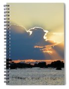 Portrait Of The Sun Spiral Notebook