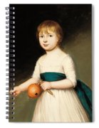 Portrait Of Thomas Allason Spiral Notebook