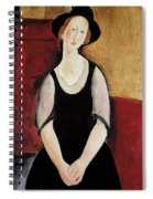 Portrait Of Thora Klinchlowstrom Spiral Notebook