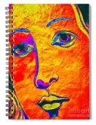 Portrait Of Venus Spiral Notebook