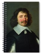 Portrait Of Vincent Voiture 1597-1648 C.1643-44 Oil On Canvas Spiral Notebook