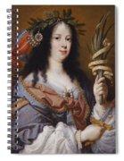 Portrait Of Vittoria Della Rovere As Saint Vittoria Spiral Notebook