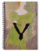Portrait Of Yvette Guilbert Spiral Notebook