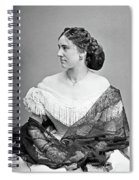 Portrait Woman, C1865 Spiral Notebook