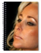 Portrait Young Woman Spiral Notebook