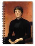 Portrat Of Jelizaveta Spiral Notebook