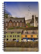 Portree. Isle Of Skye. Scotland Spiral Notebook