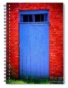 Portsmouth Door 6 Spiral Notebook