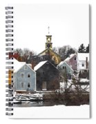 Portsmouth Waterfront Pwwc Spiral Notebook