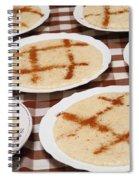 Portuguese Food Spiral Notebook