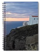 Portuguese Lands End  Spiral Notebook