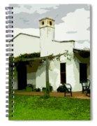 Posada De Laguna Lodge Spiral Notebook