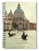 Postcard From Venice Spiral Notebook