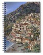 Positano E La Torre Clavel Spiral Notebook
