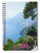 Positano Italy Amalfi Coast Delight Spiral Notebook